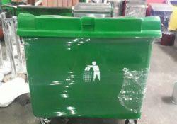 tempat sampah fiber 660 liter